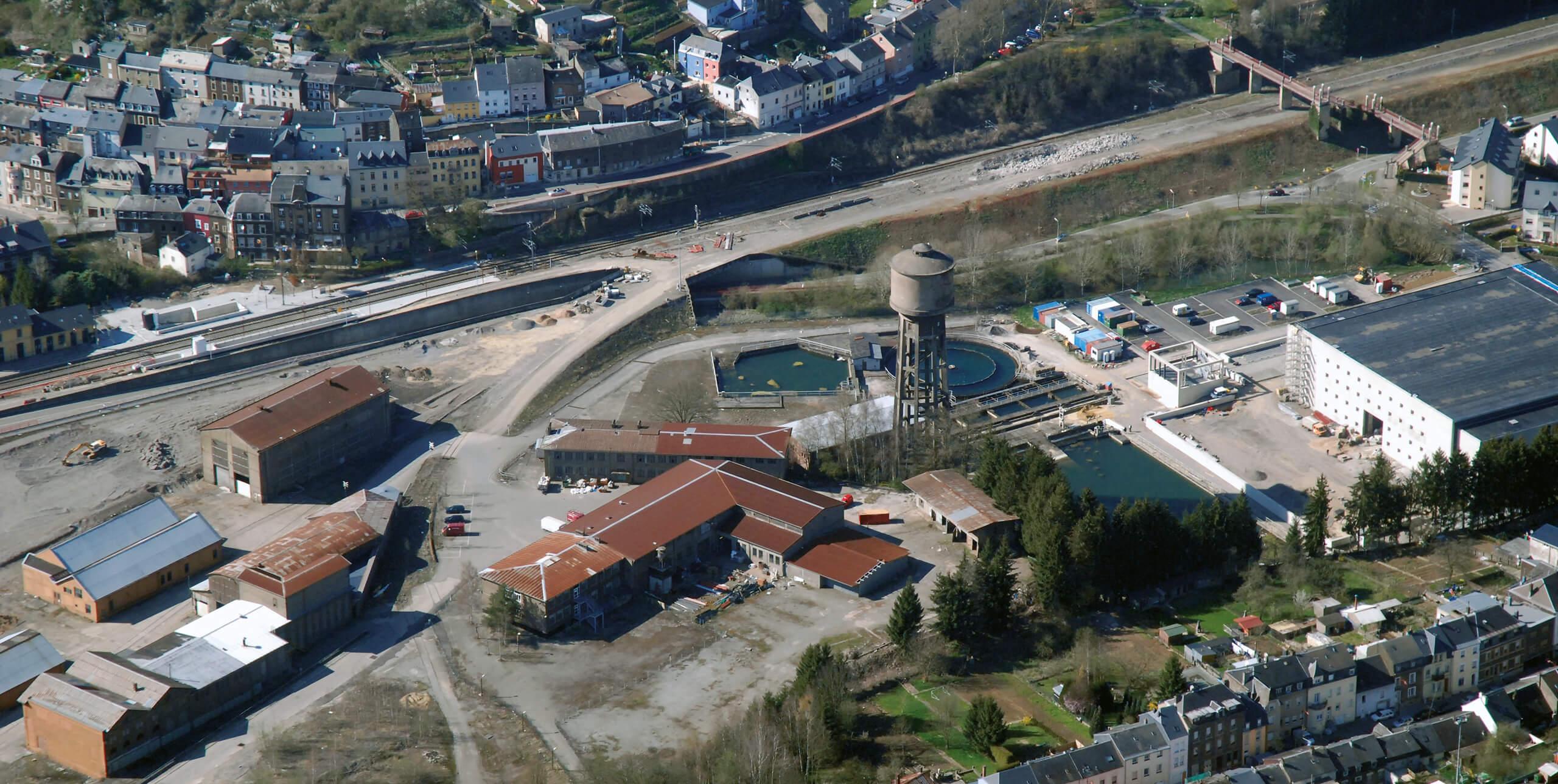Coordination Neischmelz, Zoom Wasserturm Quartier Italie