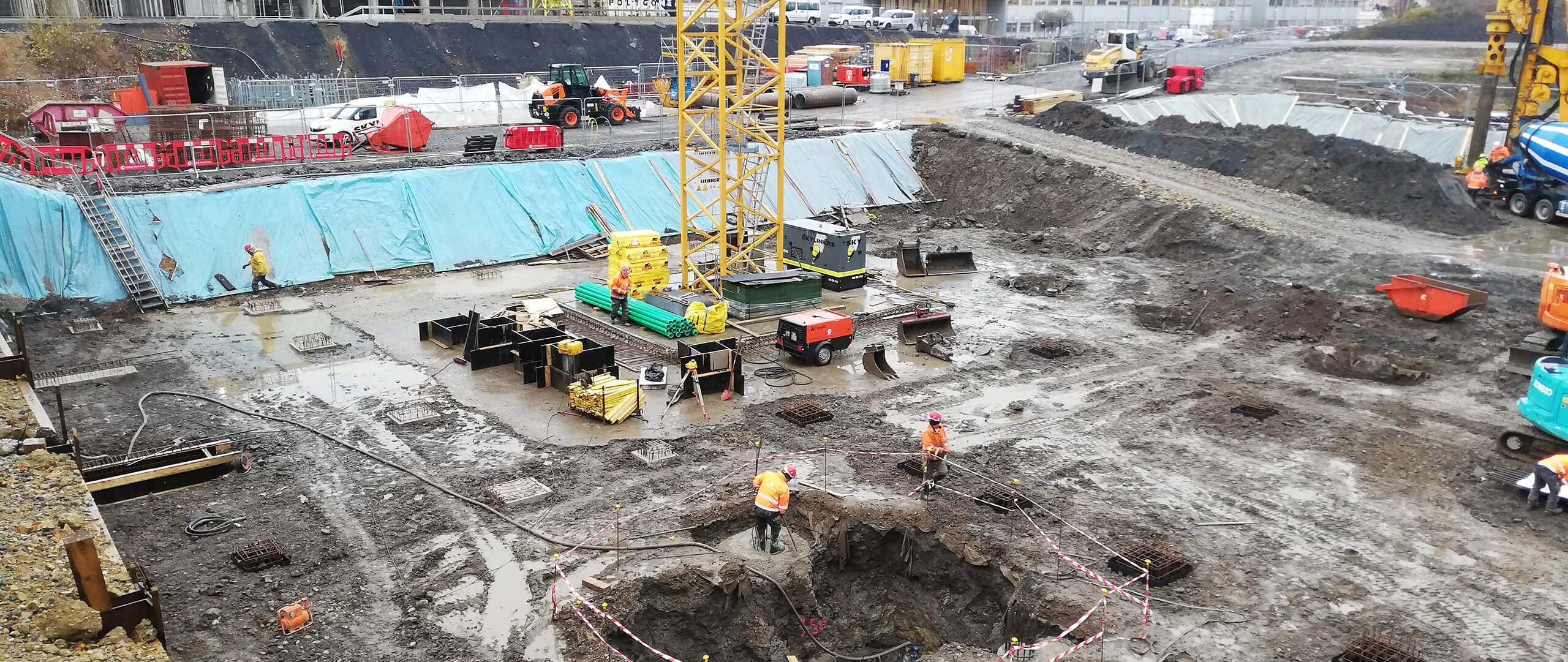 Baubeginn Square Mile 27E, Belval