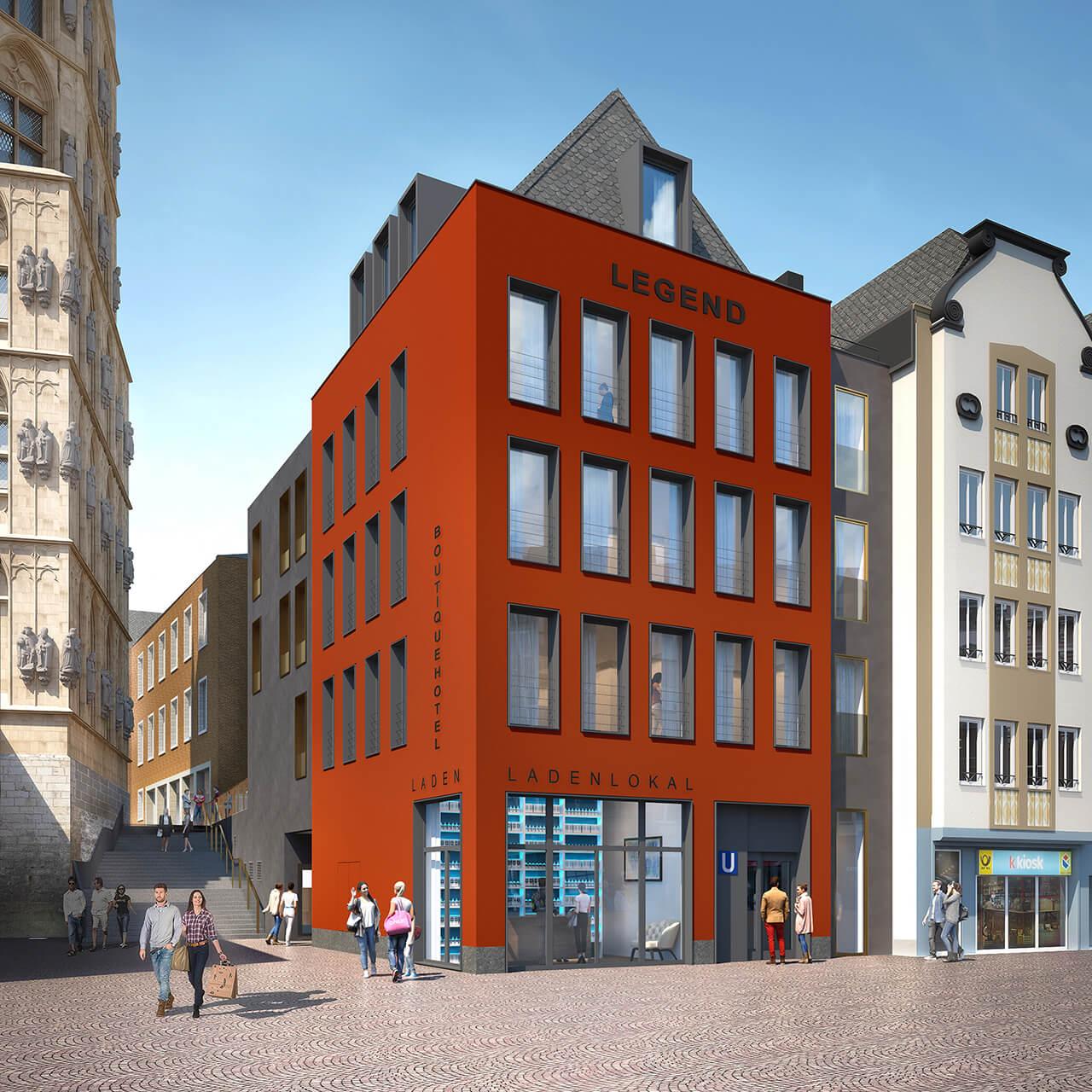 Rotes Haus, Köln